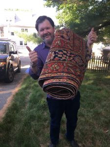 top ten things to buy at an estate sale, estate sale shopping, shop second hand, antique rug, dover, ma, Massachusetts, boston, metro west, estate, moving sale, downsizing, top ten, buying guide, shopping guide
